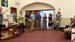 Photo -Graduate Recognition Sunday - June 5th 2016